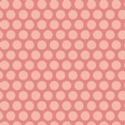 Makower UK - Little Sweetheart - 6086 - Spots on Dusky Pink - 8831_E - Cotton Fabric